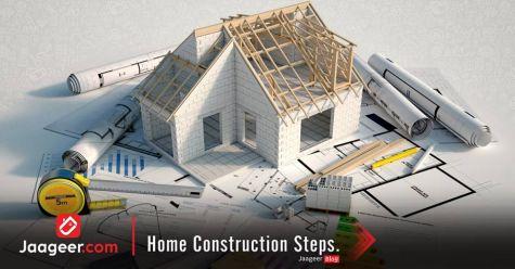 Home Construction Steps.