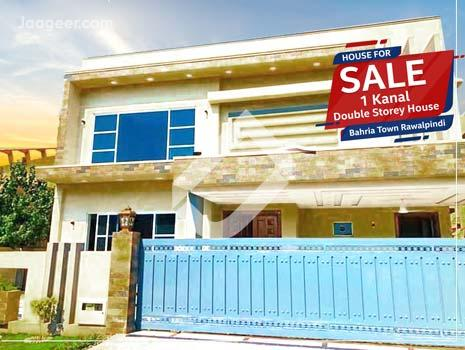 1 Kanal Brand New Lavish Double Storey House Is Available For Sale In Bahria Town Phase 4 in Bahria Town