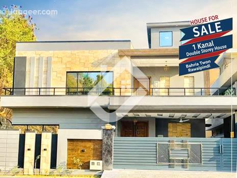 1 Kanal Double Storey House Is Available For Sale In Bahria Town Phase 4 in Bahria Town