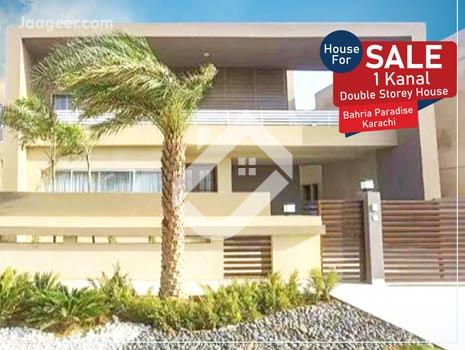 1 Kanal Double Storey House Is Available For Sale In Bahria Paradise in Bahria Paradise