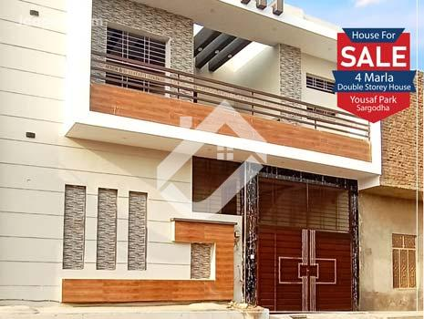 4 Marla Double Storey House Is Available For Sale In Yousaf Park in Yousaf Park